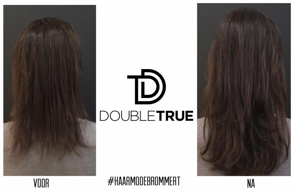 Extensions Van Double True Haarmode Brommert Al Sinds 1973 De